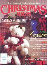 Buy Hardcover Book Better Homes Gardens Christmas Ideas From Santas Workshop 1989