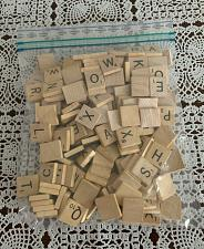 Buy 200 Assorted Wooden Scrabble Letter Tiles 2 Complete Sets 4 Dog Rescue Charity