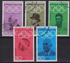 Buy GERMANY BUND [1968] MiNr 0561-65 ( O/used ) Sport