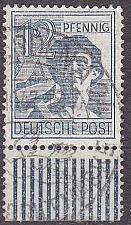 Buy GERMANY Alliiert Gemeinschaft [1947] MiNr 0947 W UR ( O/used )