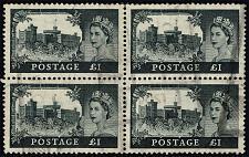 Buy Great Britain #312 Windsor Castle Block of 4; Used (3Stars) |GBR0312-01XDP
