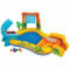 Buy Intex 8ft x 6.25ft x 43in Dinosaur Play Center Inflatable Kids Set Swimming Pool