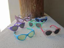 Buy Lot Of 6 Pairs Unbranded, Costume & Fisher Price Multi color Girl's Sunglasses