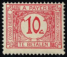 Buy Belgian Congo #J2 Postage Due; Unused (2Stars) |BCOJ02-03XRS