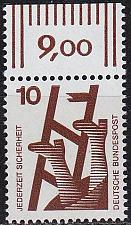 Buy GERMANY BUND [1971] MiNr 0695 A ORand ( **/mnh )