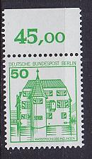 Buy GERMANY BERLIN [1980] MiNr 0615 A o ( **/mnh ) Burgen Schlösser