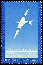 Buy 1991 France, Fifth Handicapped Olympics Scott 2270 Mint F/VF NH