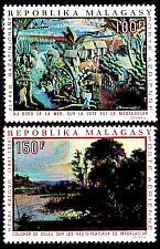Buy MADAGASKAR MADAGASCAR [1969] MiNr 0606-07 ( **/mnh ) Gemälde