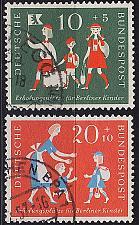 Buy GERMANY BUND [1957] MiNr 0250-51 ( O/used )