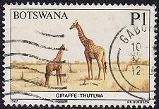 Buy BOTSWANA [1987] MiNr 0419 ( O/used ) Tiere