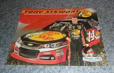 Buy Brand New Tony Stewart NASCAR Bass Pro Collector Card For Dog Rescue Charity