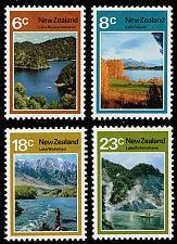 Buy New Zealand #507-510 Lakes Set of 4; Unused (2Stars)  NWZ0510set-01