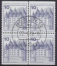 Buy GERMANY BERLIN [1977] MiNr 0532 CD 4er ( O/used ) Burgen Schlösser