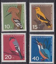 Buy GERMANY BUND [1963] MiNr 0401-04 ( **/mnh ) Vögel