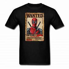Buy Deadpool Wanted Unisex Classic T-Shirt