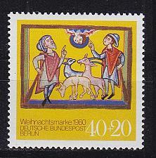 Buy GERMANY BERLIN [1980] MiNr 0633 ( **/mnh ) Weihnachten