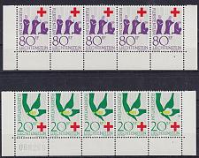 Buy LIECHTENSTEIN [1963] MiNr 0428-29 ( **/mnh ) [02] Rotes Kreuz Unterrand
