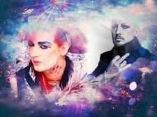 Buy BOY GEORGE 3 FT X 5 FT FABRIC BANNER