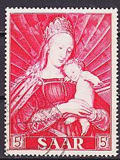 Buy GERMANY Saar [1954] MiNr 0351 ( O/used )