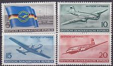Buy GERMANY DDR [1956] MiNr 0512-15 ( **/mnh ) [02] Flugzeug