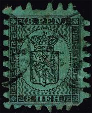 Buy Finland #7 Coat of Arms; Used (0Stars) |FIN0007-01XDP