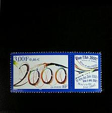 Buy 1999 France Best Wishes for Year 2000 Scott 2746 Mint F/VF NH