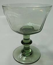 Buy Lenox Green Antique pattern dessert glass lead Crystal Made in USA