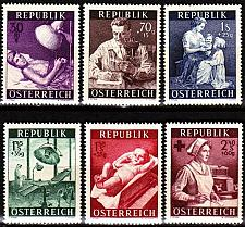 Buy ÖSTERREICH AUSTRIA [1954] MiNr 0999-04 ( **/mnh )