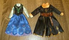 Buy REPLACMENT PIECES: FROZEN Styled Doll DRESSES Lot of 2- Fits Barbie size dolls