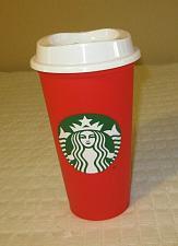 Buy Starbucks Reusable Red To Go Cup Travel Tumbler Mug Grande Traveler 16 fl oz
