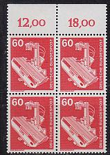 Buy GERMANY BUND [1978] MiNr 0990 4er ( **/mnh ) Industrie
