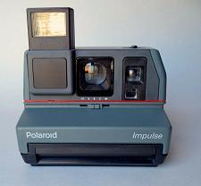 Buy Polaroid Impulse, Film 600 plus. Instant Film Camera. Tested Working