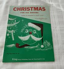 Buy Rare Vintage 1958 King Music Publishing Book A2 Christmas For All Organs