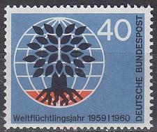 Buy GERMANY BUND [1960] MiNr 0327 ( **/mnh ) CEPT