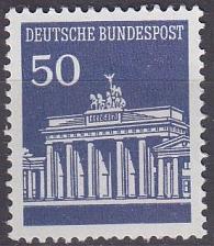 Buy GERMANY BUND [1966] MiNr 0509 v ( **/mnh )