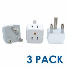 Buy Ceptics South Africa, Namibia Travel Adapter Plug with Dual Usa Input - Type M -