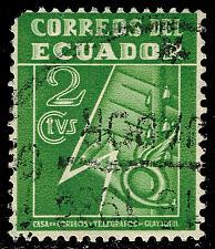 Buy Ecuador #RA29 Post and Telegraph Service Symbol; Used (2Stars) |ECURA29-09XBC