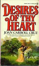 Buy Desires of Thy Heart by Joan Carroll Cruz Book For Cocker Spaniel Rescue Charity