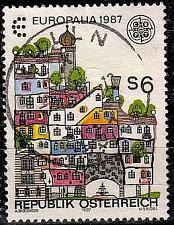 Buy ÖSTERREICH AUSTRIA [1987] MiNr 1876 ( O/used ) Architektur