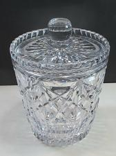 Buy Signed Royal crystal jar with lid for