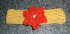 Buy Brand New Crocheted Yellow Flower Design Dog Collar LARGE For Dog Rescue Charity