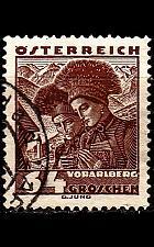 Buy ÖSTERREICH AUSTRIA [1934] MiNr 0582 ( O/used ) Trachten