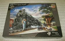 Buy Masterpieces Puzzle 1000 Pieces By Dan Hatala Whistle Stop