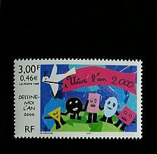 Buy 1999 France Stamp Design Contest Winner, Year 2000 Scott 2734 Mint F/VF NH