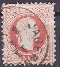 Buy ÖSTERREICH AUSTRIA [1867] MiNr 0037 II/II a C ( O/used )