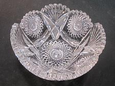 Buy ABP cut glass ice tub Antique crystal Made in USA ABP