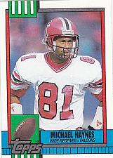 Buy Michael Haynes #471 - Falcons 1990 Topps Football Trading Card