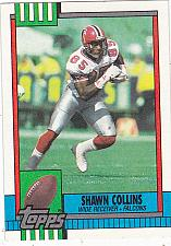 Buy Shawn Collins #467 - Falcons 1990 Topps Football Trading Card