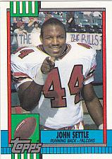 Buy John Settle #473 - Falcons 1990 Topps Football Trading Card