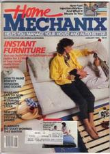 Buy Lot of 4: Home Mechanix Magazines from the '80s :: FREE Shipping